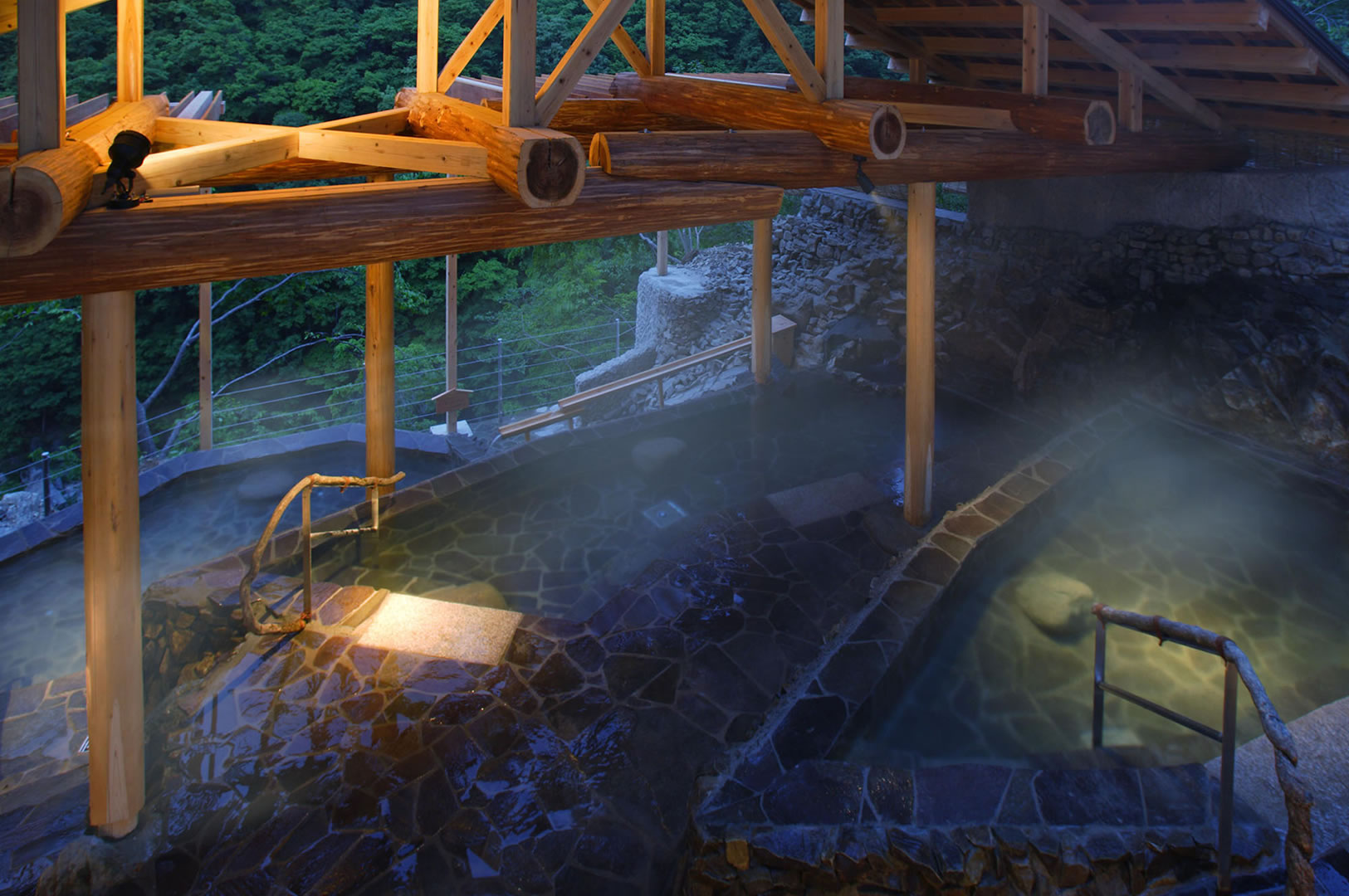Japanese Style Inn and Hot Spring Spa | ArchitectiralDesign | JCAP7